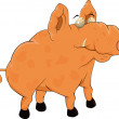 Royalty-Free Stock Vectorafbeeldingen: Pig