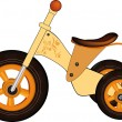 Children's tricycle — Vector de stock