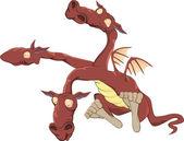 Dragon — Stockvektor