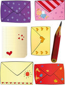 Letters Happy Valentine's day — Stockvektor