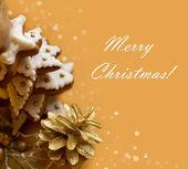 Christmas Tree Cookie — Stock Photo