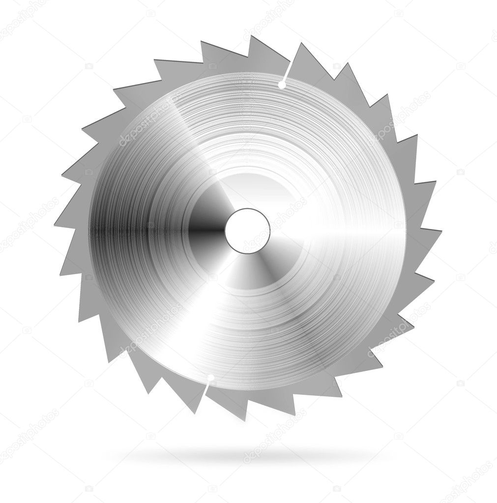Circular saw blade — Stock Vector #4226183