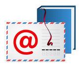 E-mail address book — Stock Vector