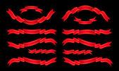 Banner Ribbon Scroll — Stock Vector