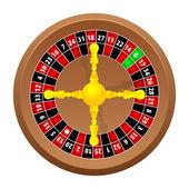 Roulette casino — Stock Vector