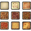 Stock Photo: Stages of pizza
