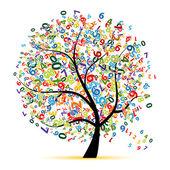 Digitální strom pro návrh — Stock vektor