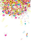 Happy holiday, funny background with balloons for your design — Stockvektor
