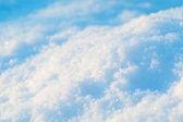 雪纹理 — 图库照片