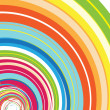 Stock Photo: Colorful Rainbow Spiral