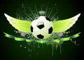 Football emblems — Stock Photo