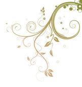 гранжевый цветочный фон — Стоковое фото