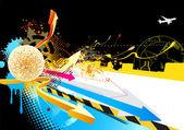 Diseño abstracto fiesta — Foto de Stock