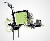 城市框架 — 图库照片