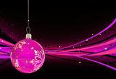 Vánoční přání greating — Stock fotografie