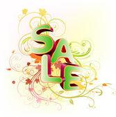 Sale styled design — Stock Photo