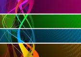 Renkli afiş — Stok fotoğraf