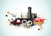 Background urbano — Foto Stock