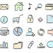 Icons set — Stock Photo #4119911