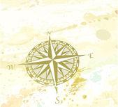 Windrose bússola — Foto Stock