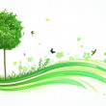 Green Eco Background — Stock Photo #4120032