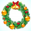 Royalty-Free Stock Obraz wektorowy: Christmas wreath