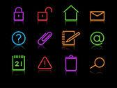 Icons set — Foto de Stock