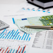 Financial charts and graphs — Stock Photo #5225481