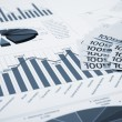 Financial charts and graphs — Stock Photo #5228935