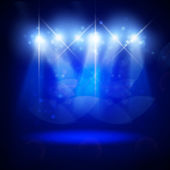 Abstract image of concert lighting — Zdjęcie stockowe