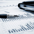 Financial charts and graphs — Stock Photo #5235633