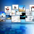 Stockfoto: Medistream of high technology