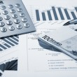Financial charts and graphs — Stock Photo #5258333