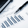 Financial charts and graphs — Stock Photo #5288335