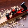 Stock Photo: Shavings of wood