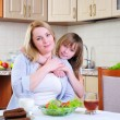 Mom and young daughter — Stock Photo #5309896