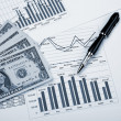 Royalty-Free Stock Photo: Financial charts and graphs