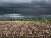 Paysage rural d'automne — Photo