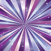 Paprsky a hvězdy. — Stock vektor