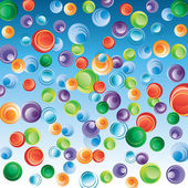 Abstract background with bubbles. — Stock Vector