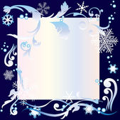 Winter achtergrond. — Stockvector