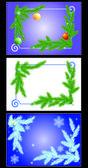 Christmas frame. — Stock Vector