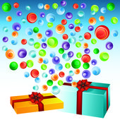 Gifts — Stock Vector