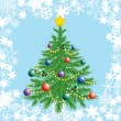 Royalty-Free Stock Vector Image: Christmas tree.