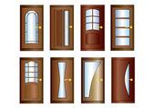 The Door. — Stock Vector