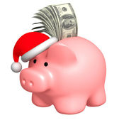 Money to Christmas — Stock Photo