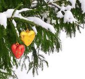圣诞饰品 — 图库照片