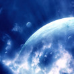 Sky in alien planet — Stock Photo #4111837