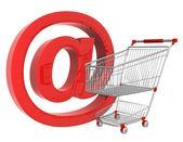 Virtual shopping — Stock Photo