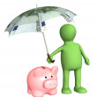 Financial protection — Stock Photo
